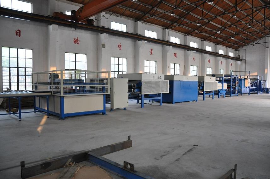 蜂窝设备之蜂窝纸板生产线规格参数-上海绿顺