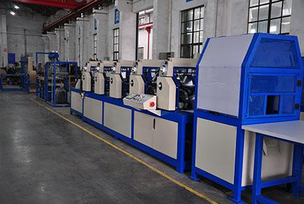 纸护角生产线介绍  上海绿顺