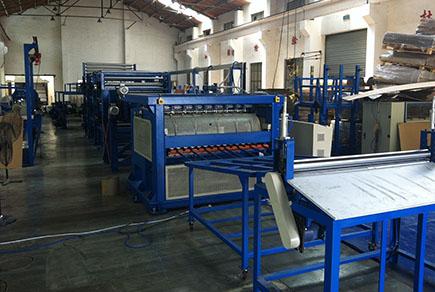 上海绿顺蜂窝纸芯生产线
