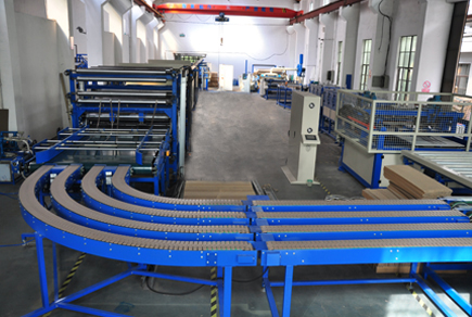 LW1600 Corruageted Paper Composite Board Line