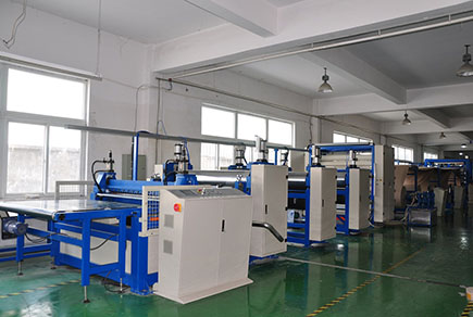 PB1600 flat board production line
