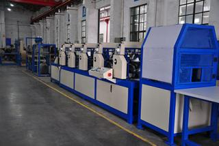 ZJK120D paper edge protector production line