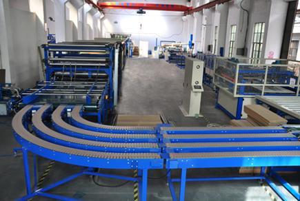 LW1600 瓦楞复合板生产线