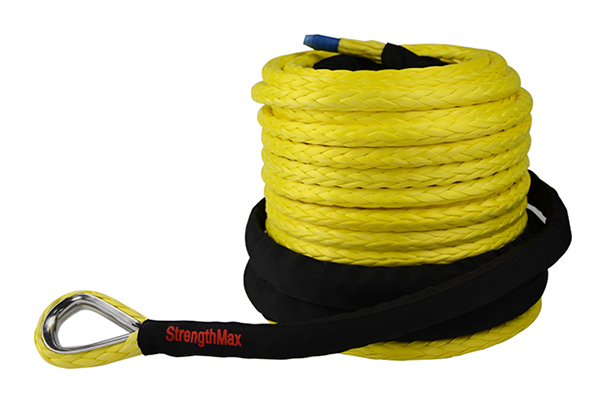 Pre-stretched Synthetic Winch Rope