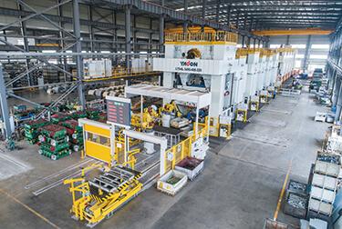 機器人自動化多機沖壓線