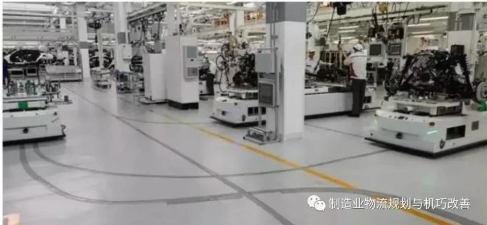 AGV搬運在汽車制造業的應用