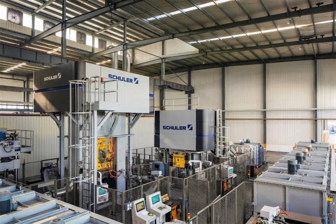 舒勒為中國客戶安裝鍛造生產線