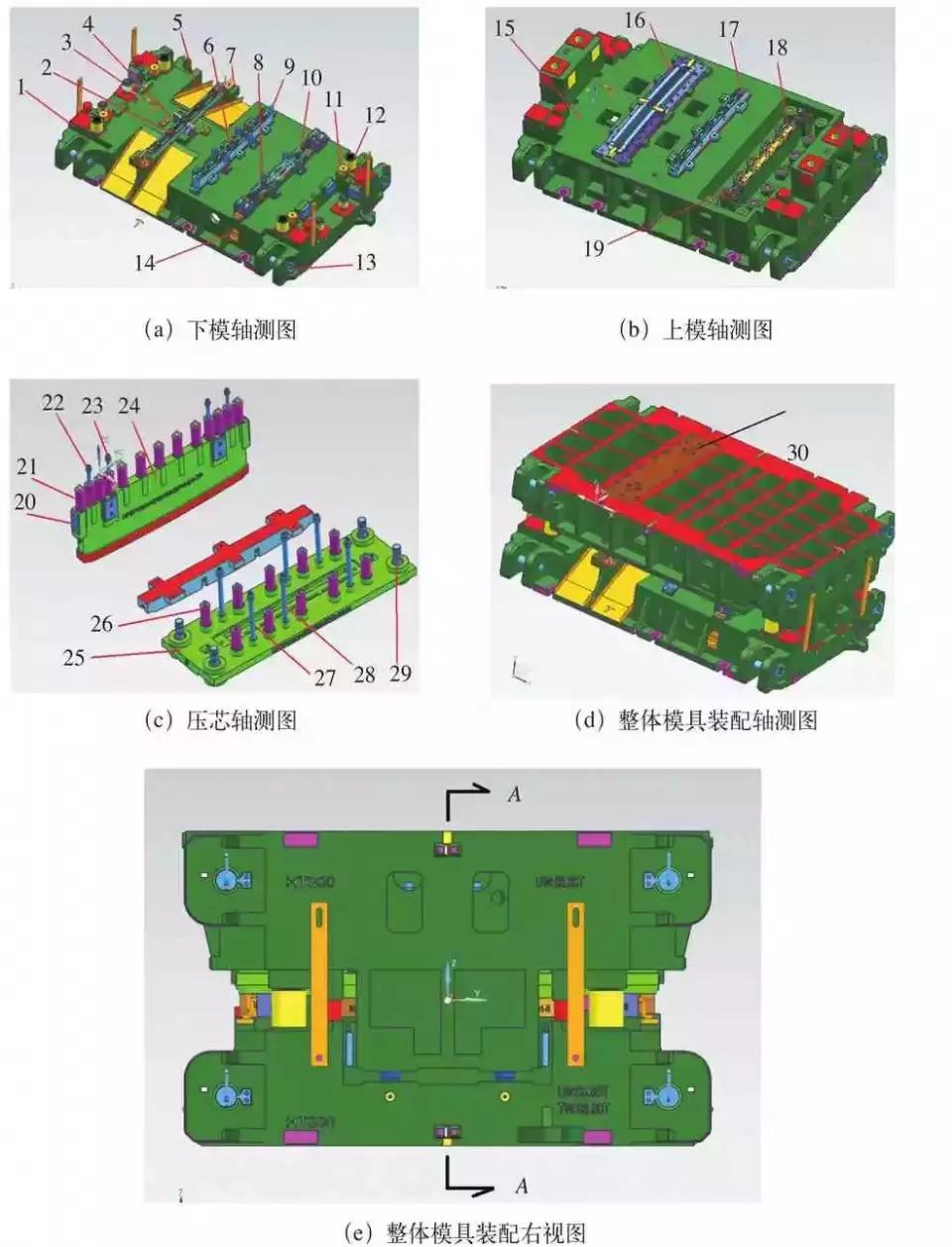 中型沖壓件在多工位模具上的應用