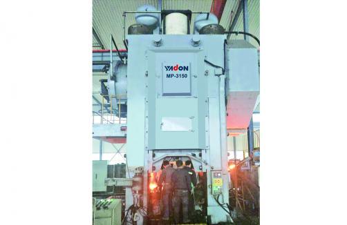 MP高速精密熱模鍛壓力機