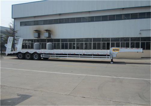 3-Axles 13.5m Low Bed Semi Trailer