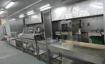 Kitchen Dining Facilities Container
