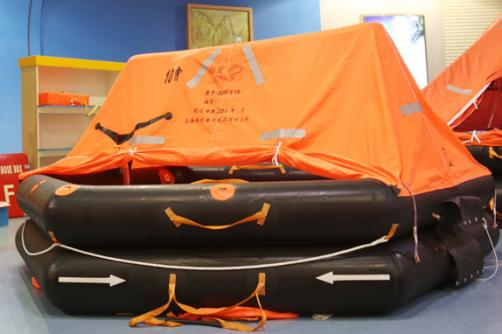 QJF type inflatable liferafts