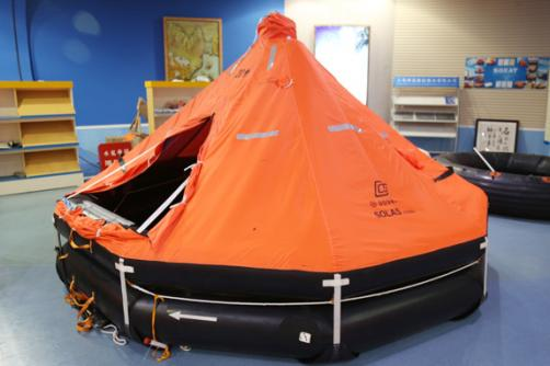 KHD type davit-launched inflatable liferafts for fishing vessels