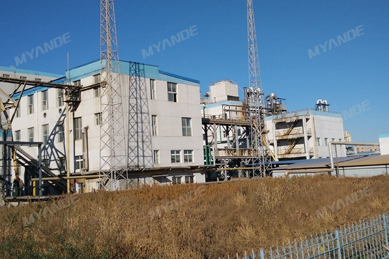 280TPD Corn Germ Oil Plant Reconstruction Project