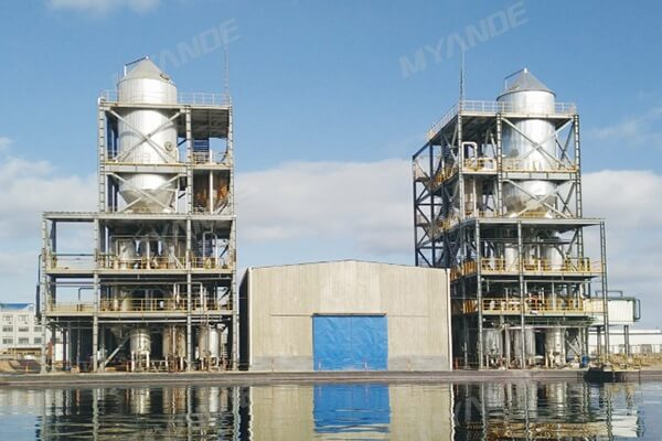 29T/H High-salt Wastewater MVR Evaporation