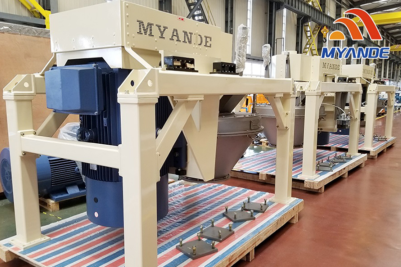 Myande Pin Mill To Be Shipped