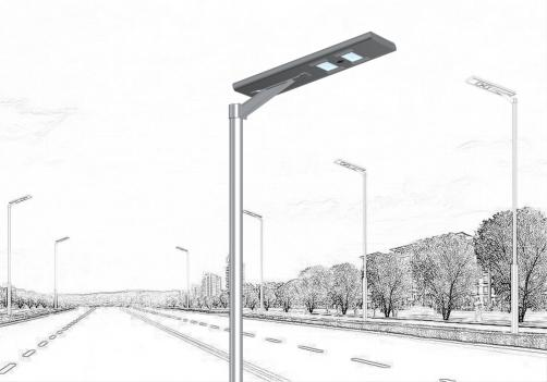 All in one Solar street lighting