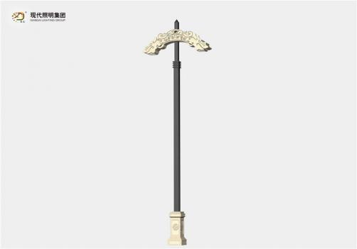 Lampadaire customisé-001