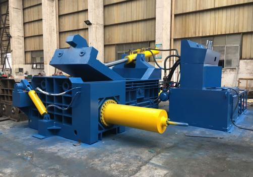 Y81F-1600 scrap metal shavings turnings chips baler machine
