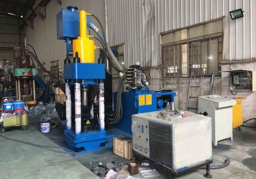 Y83L-3600 scrap aluminium copper briquette making machine