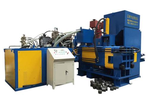 Y83W-5000 waste steel borings briquetting recycling machine