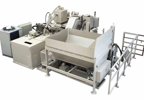Y83W-3600 horizontal speed copper chips recycling briquette machine