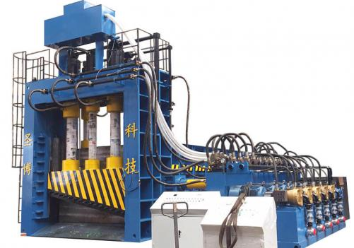 1000ton~1600ton heavy-duty large scrap metal blocks gantry shear for structural parts
