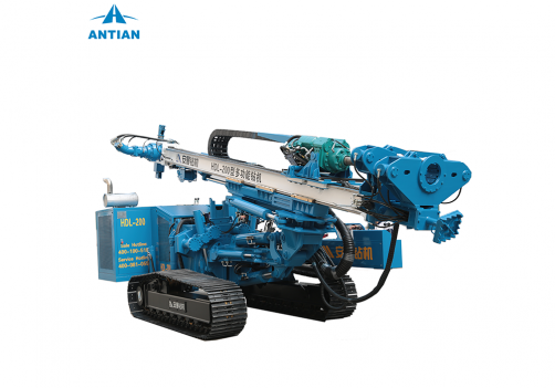 HDL-200 Top Drifter Multifunctional Hydraulic Drilling Rig
