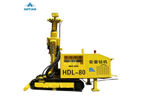 HDL80 Top Drifter Multifunctional Hydraulic Drilling Rig