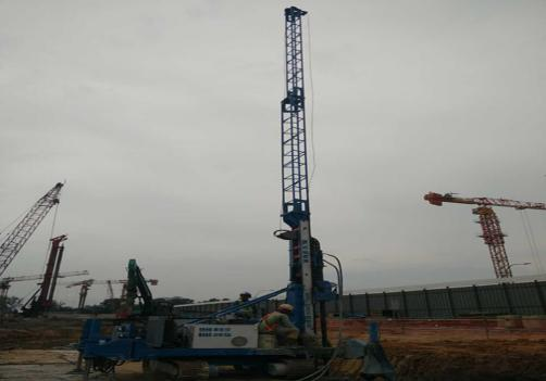MXL150D6 Crawler Jet Grouting Drilling Rig