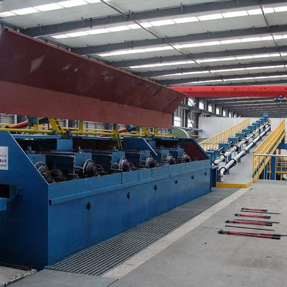 Low-oxygen Copper Rod Continuous Casting and Rolling Line