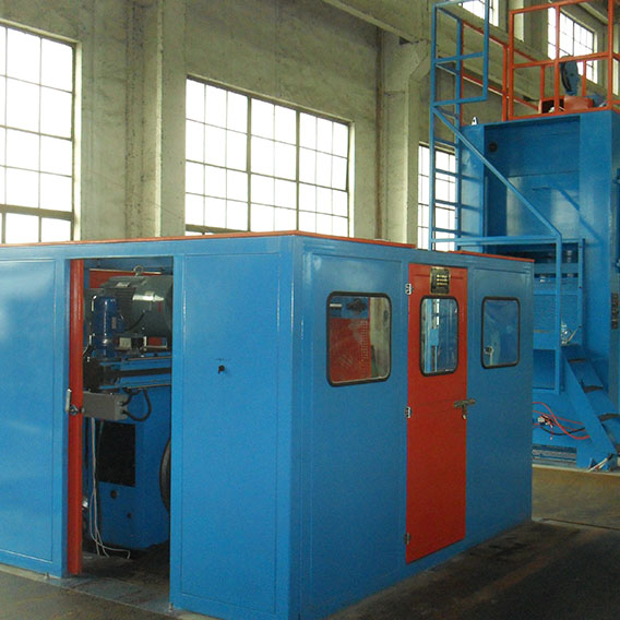 The Line of Lead Sheathing Extruder Type YQL 200/5