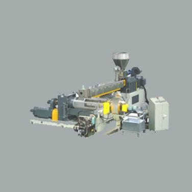 SDJ Two-Stage(Twin/Single screw) Extruder Unit (two-time pelletizing)