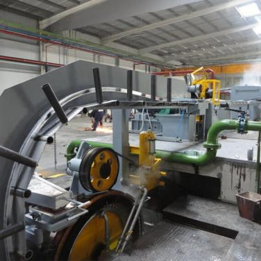 Aluminum Continuous Casting And Rolling Line