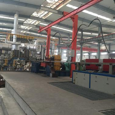 Al Alloy Rod Continuous Casting And Rolling Machine