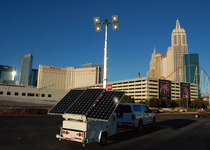 American-California-Municipal-Construction-Solar Lighting Tower