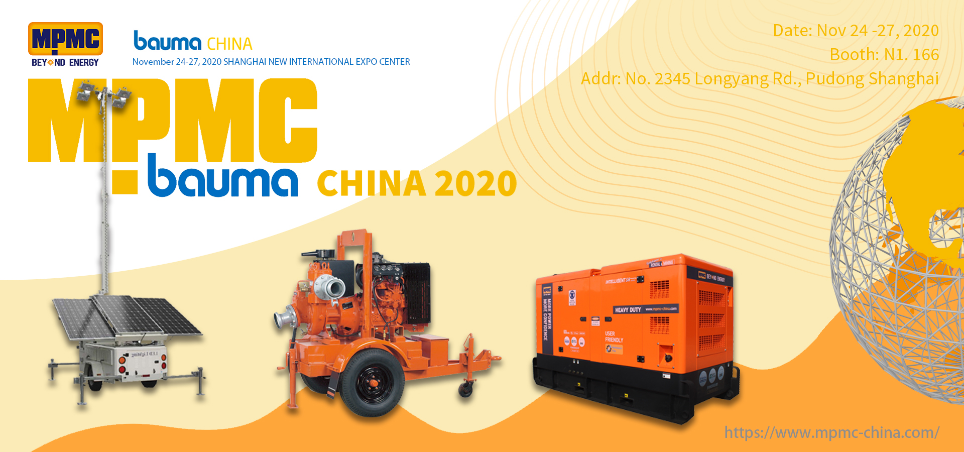 Meet Us at BAUMA China 2020 - MPMC Bringing NEW!