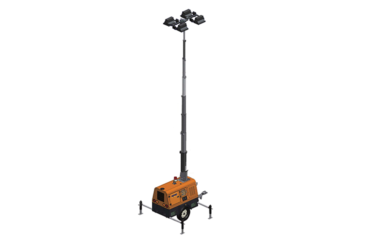 9m High Led Hydraulic Lighting Tower 1440w (Lhs2)