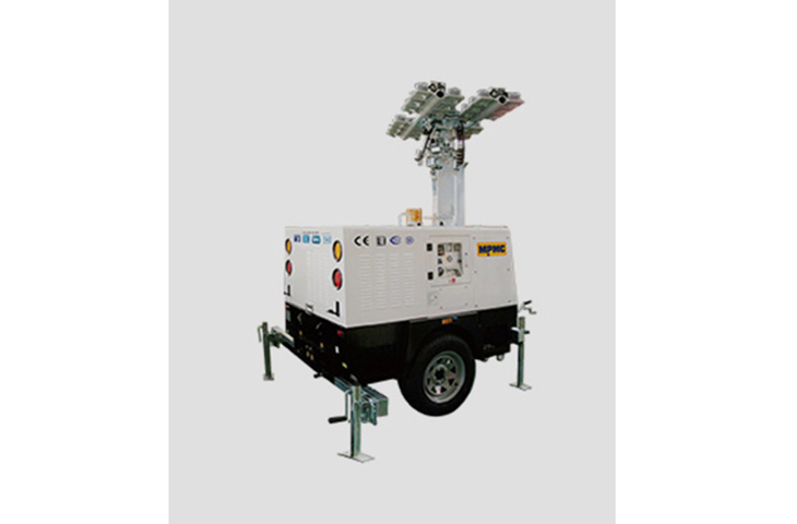 9m High Led Hydraulic Lighting Tower 1440w