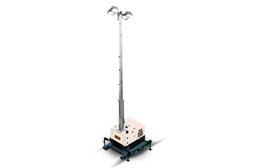 9m High Metal Halide Hydraulic Lighting Tower 4000w (Lhs1)