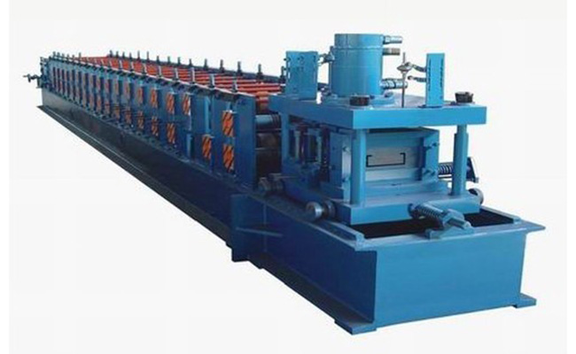 C Purlin Forming Machine With Chain System