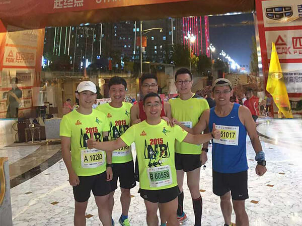 2015 Ningbo International Marathon.