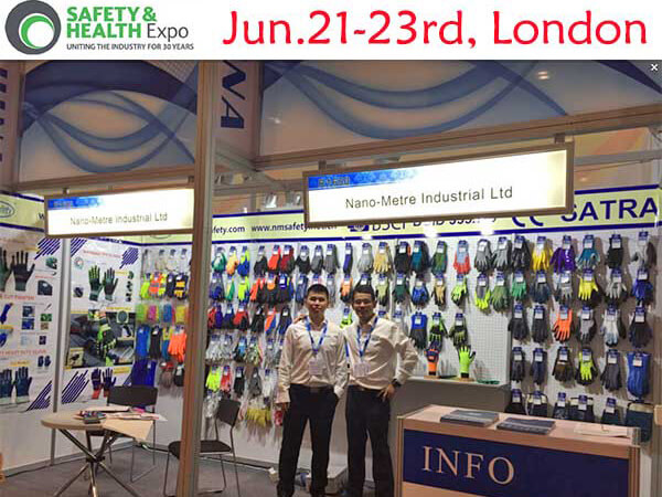 2016 in London, UK. Booth no. is R1650