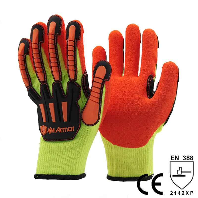 Safety Gloves Anti Shock Gloves- NM010AC-OR