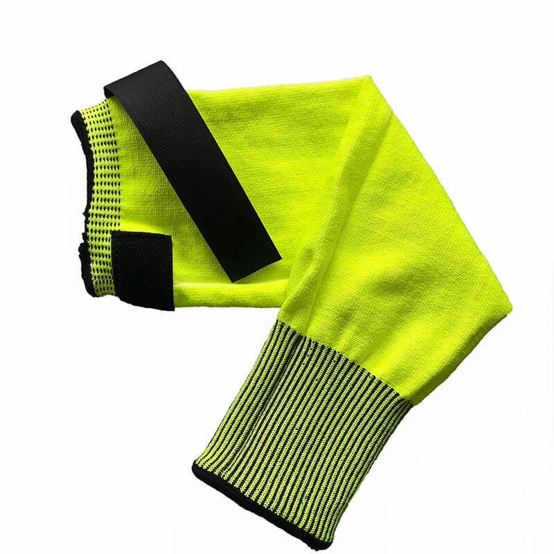 Hi-Viz Yellow Cut Resistant Level 5 Sleeve - SKD007