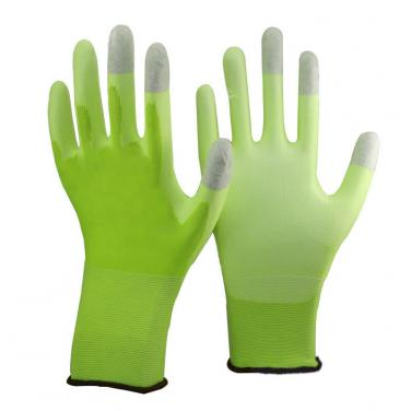 Three Finger Touch Screen Work Glove- PU1850T-HY