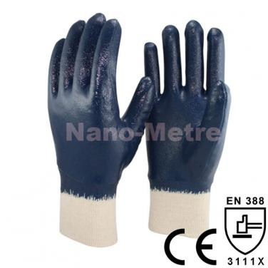 Light Duty Work Glove With Interlock Liner Full Coated Nitrile - NBR1560-B