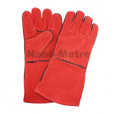 Red Cow split leather welding work gloves- CSW003