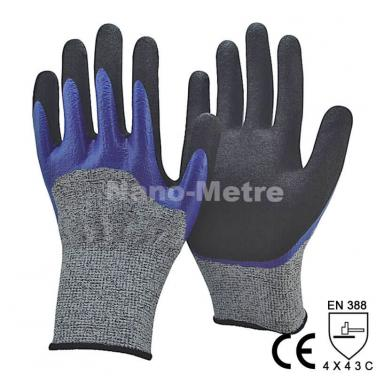 Waterproof Double Dipping Work Glove - DY1355DC-B/BLK