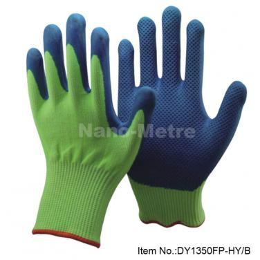 Blue Emboss Anti-Cut Working Glove - DY1350FP-HY/B